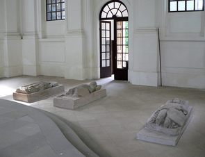 The Wettins' tomb in the Mausoleum