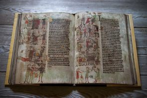 One of the Dresden illuminated manuscripts